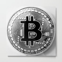 Bitcoin Bull Market Metal Print