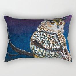 Owl Coat - Ugla Skyrta Rectangular Pillow
