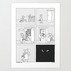 Moonbeard - Easter Something Art Print