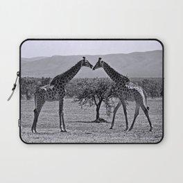 Giraffe talk Laptop Sleeve