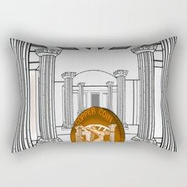 Necropolis Coin Copper 3 Rectangular Pillow