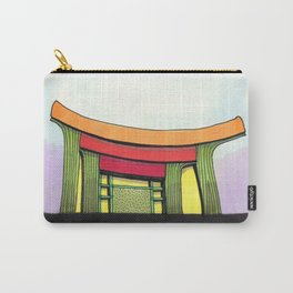 Cactus Pagoda Architectural Design 53 Carry-All Pouch