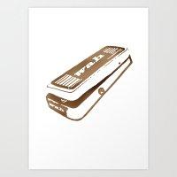 yowamushi pedal Art Prints featuring Wah Pedal by Revolver