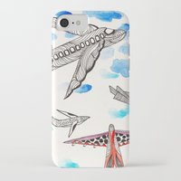 airplane iPhone & iPod Cases featuring Airplane by Beatriz Chamussy