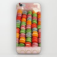 macaroons iPhone & iPod Skins featuring Macaroons by Mia Kellman