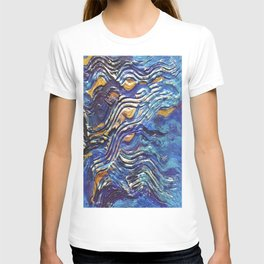 Abstract nautical background T-shirt