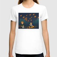 destiel T-shirts featuring starry pond by noCek