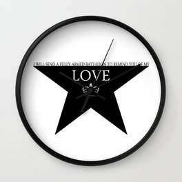 Hamilton: Love Wall Clock