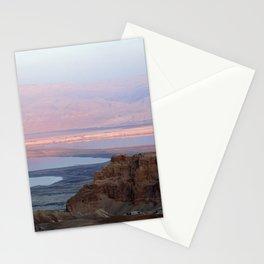 Masada Sunset Stationery Cards