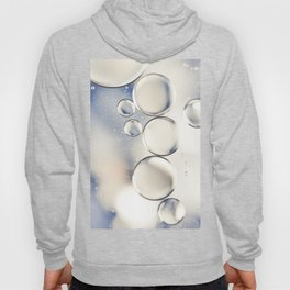 pearlescent water droplets Hoody