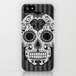 Día de los Muertos - Grey iPhone Case