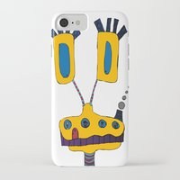 yellow submarine iPhone & iPod Cases featuring yellow submarine giraffe by JBLITTLEMONSTERS