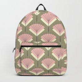Mid-century Modern Radio Antenna Pattern /Rose Backpack