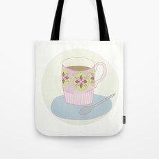 Retro Coffee Tote Bag