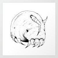 Sea Pig Art Print