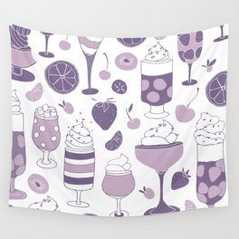 Jell-o Desserts Wall Tapestry