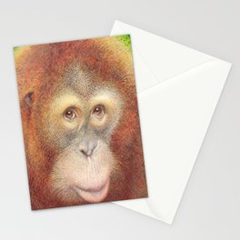 Monkey Stationery Cards