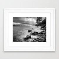 west coast Framed Art Prints featuring West Coast by John Mattatall