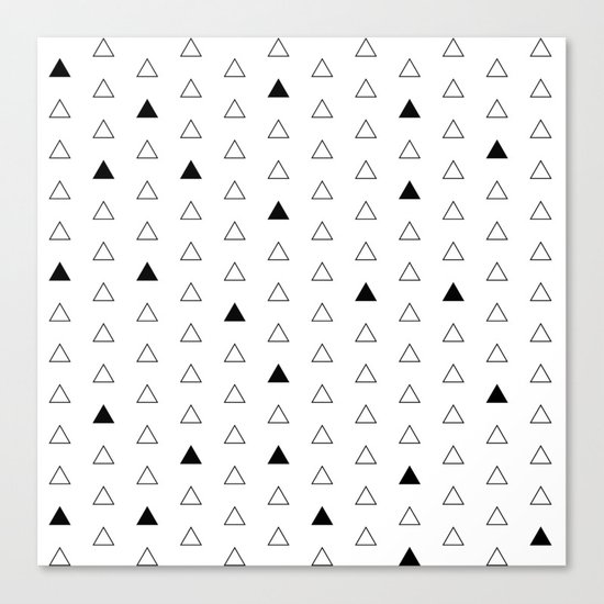 Little Triangles  Canvas Print