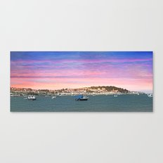 SUNSET ON INSTOW Canvas Print