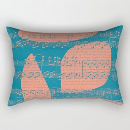 Schubert Sheet Music - Impromptu Rectangular Pillow
