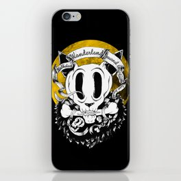 Dog skull iPhone Skin