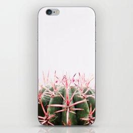cactus red iPhone Skin