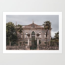 Palace in Portugal Art Print