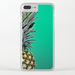 Summer Loving Clear iPhone Case