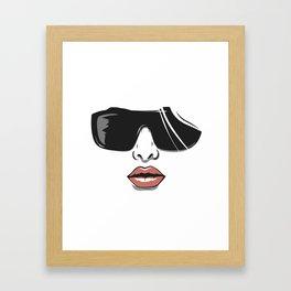 Diva's vibe Framed Art Print