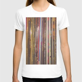 vinyl stripes T-shirt