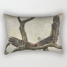 On Wings High Rectangular Pillow