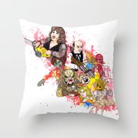 Horror Sequelitis by Cap Blackard Throw Pillow