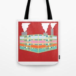pastel industry Tote Bag