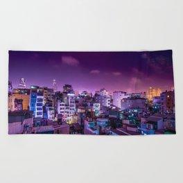 Oh Chi Minh City Beach Towel