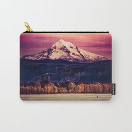 Mt Hood on Columbia River Carry-All Pouch