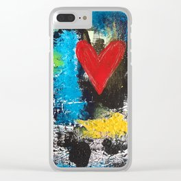 MIDNIGHT LOVE Clear iPhone Case