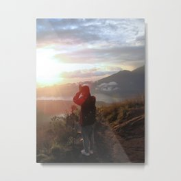 Morning Ritual  Metal Print