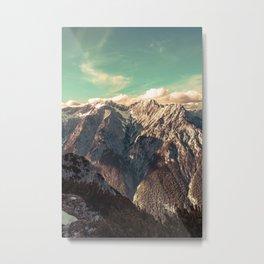 Alpine Magic Metal Print
