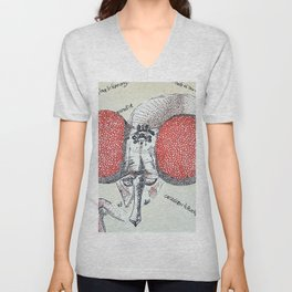 An Insect also Unisex V-Neck