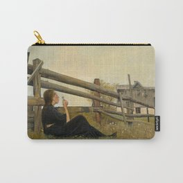 Laurits Andersen Ring - In the month of June - Victorian Belle Époque Vintage Retro Oil Painting Carry-All Pouch