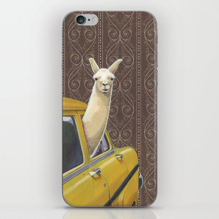 Taxi Llama iPhone Skin