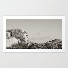 Peggy's Cove (No Ocean) Art Print