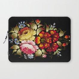 Russian Khokhloma painting Laptop Sleeve