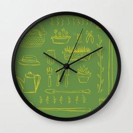 Gardening and Farming! Wall Clock