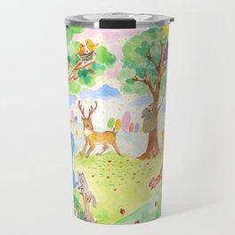 Merry forest Travel Mug