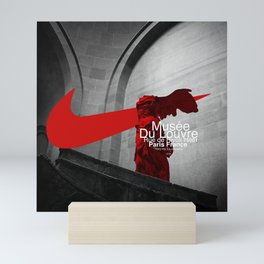 The Winged Victory Of Samothrace Mini Art Print