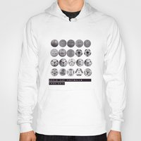 world cup Hoodies featuring World Cup Footballs by Thomas Orrow