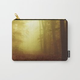 All Is wet - Misty Fall Forest Carry-All Pouch
