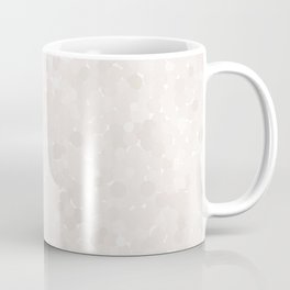 Bridal Blush Polka Dot Bubbles Coffee Mug